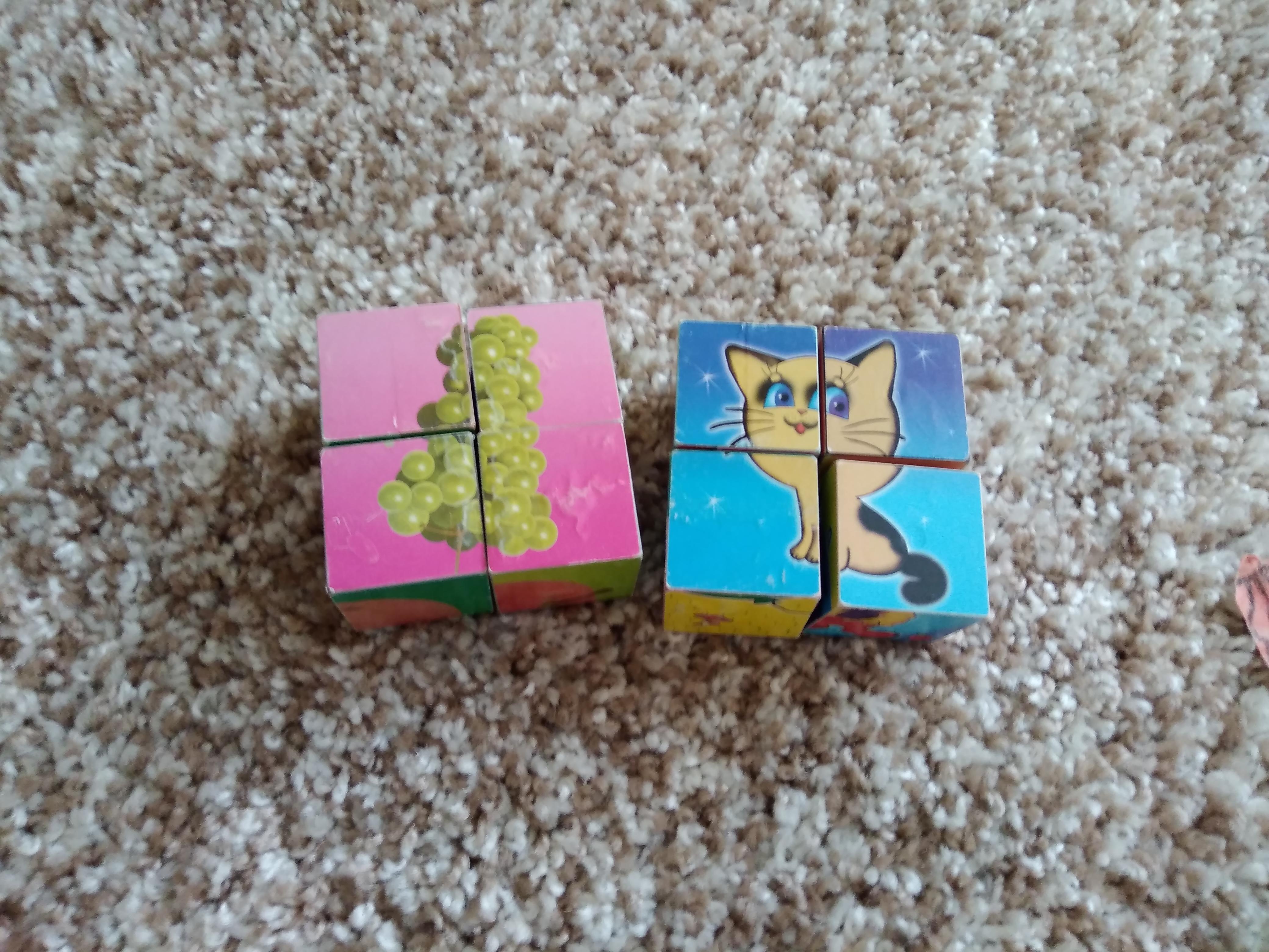 Кубики с картинками