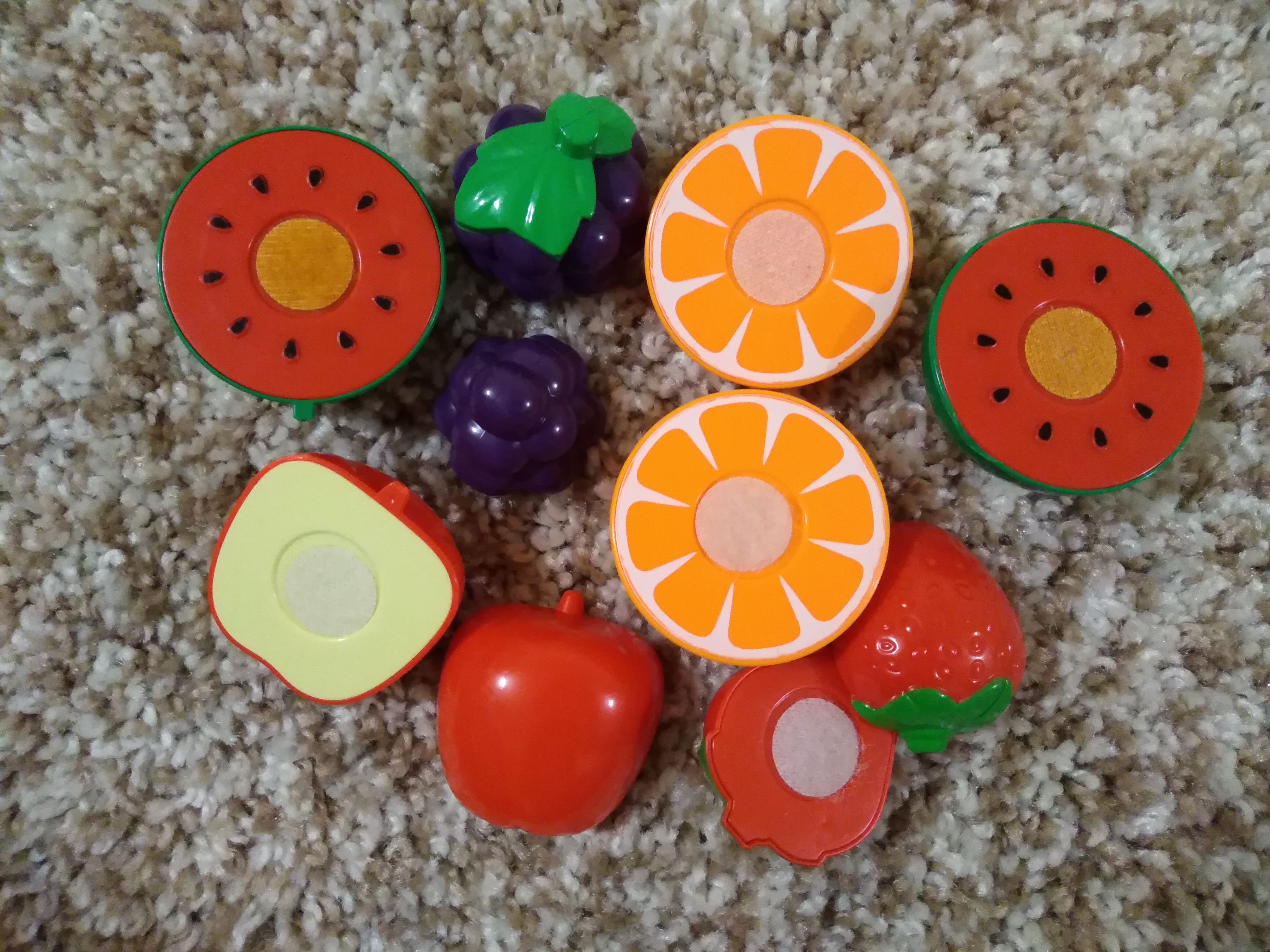 Разрезные фрукты